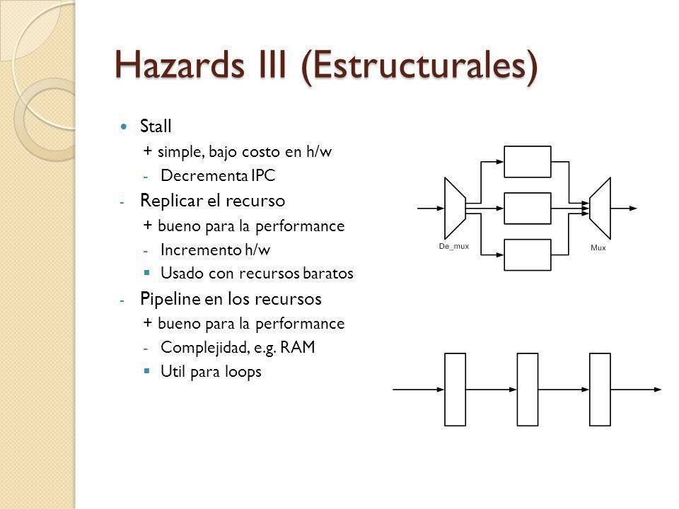 Hazards III (Estructurales)