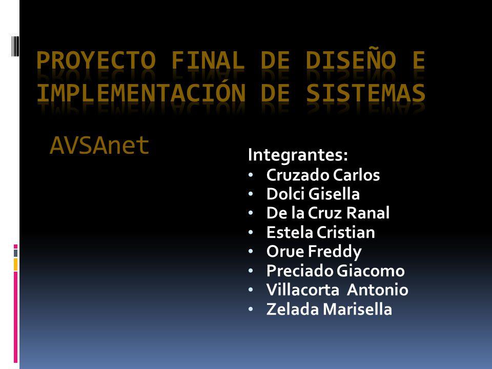 Proyecto Final de Diseño e Implementación de Sistemas