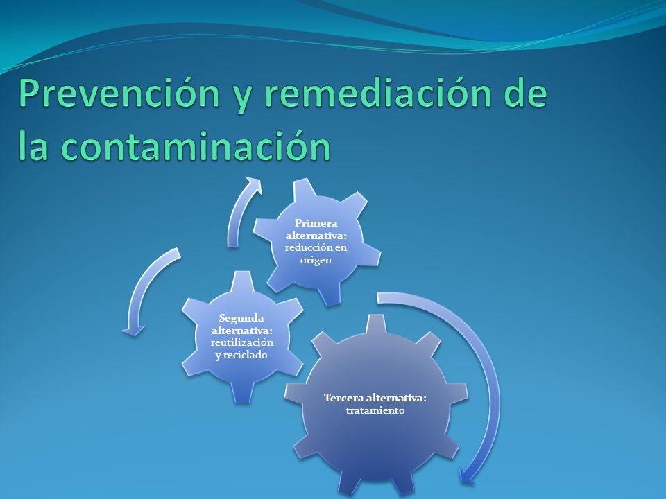 Prevención y remediación de la contaminación