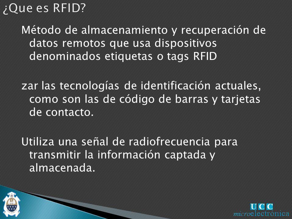¿Que es RFID