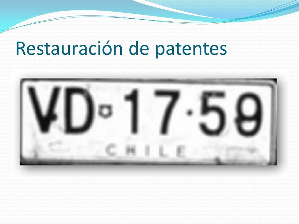 Restauración de patentes
