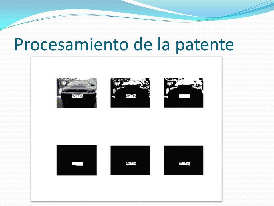 Procesamiento de la patente