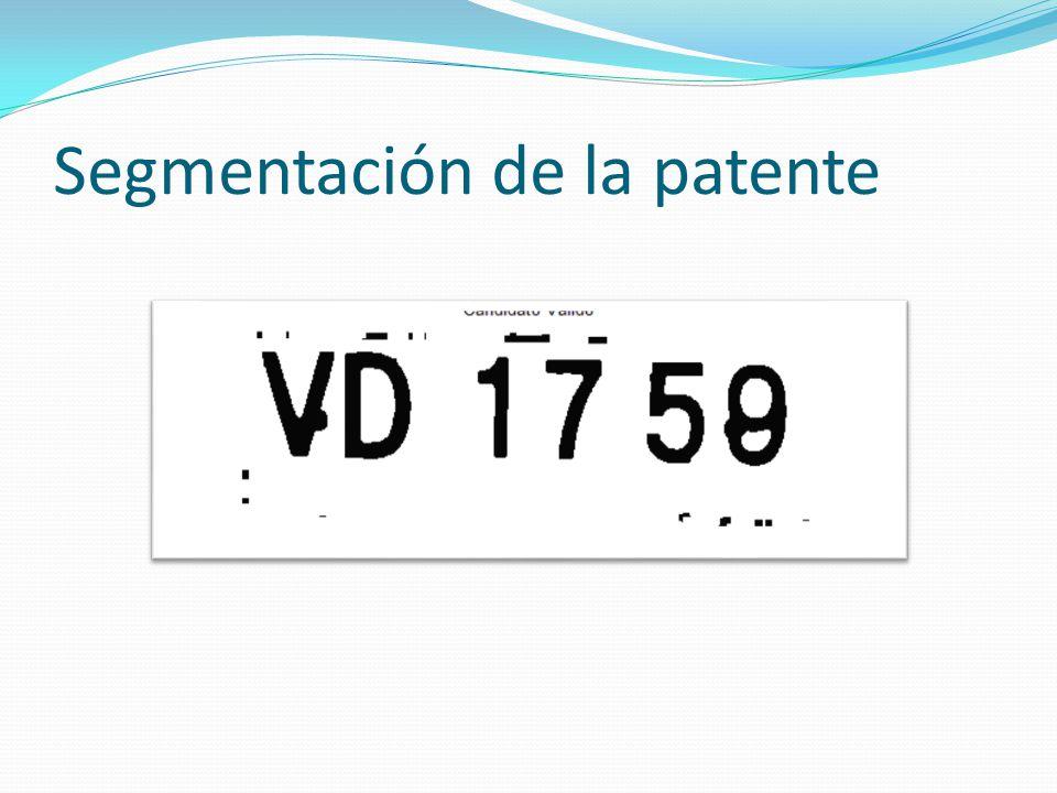 Segmentación de la patente