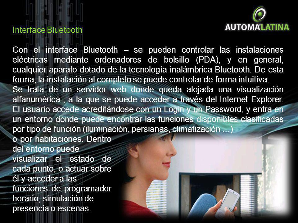 Interface Bluetooth