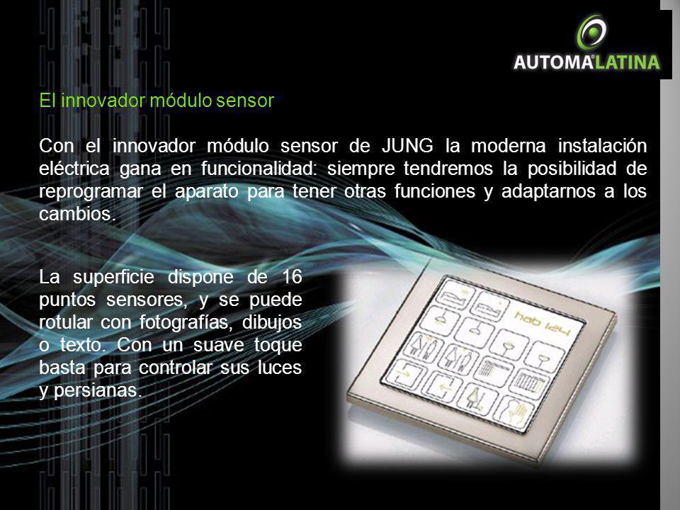 El innovador módulo sensor