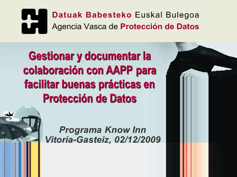 Programa Know Inn Vitoria-Gasteiz, 02/12/2009