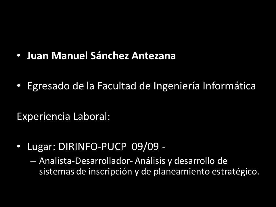 Juan Manuel Sánchez Antezana