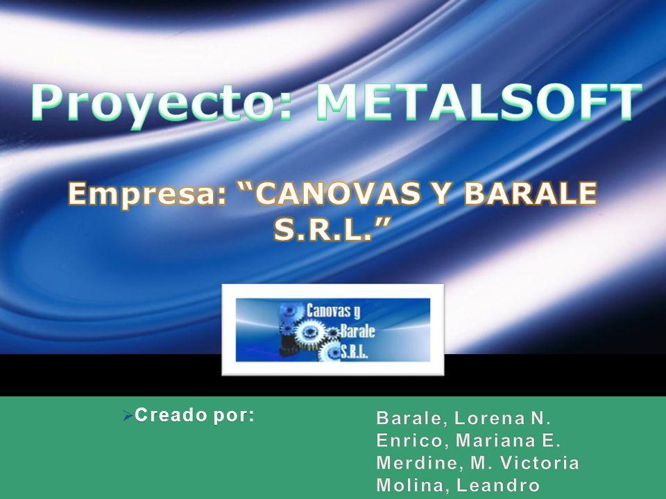 Empresa: CANOVAS Y BARALE S.R.L.
