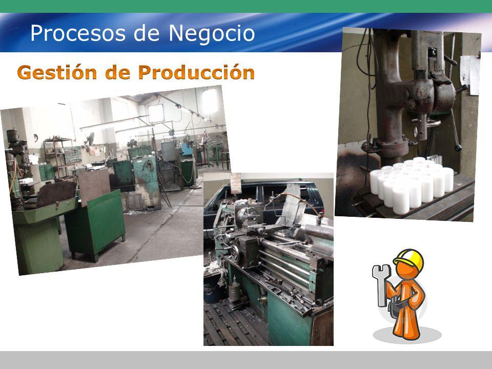 Procesos de Negocio Gestión de Producción