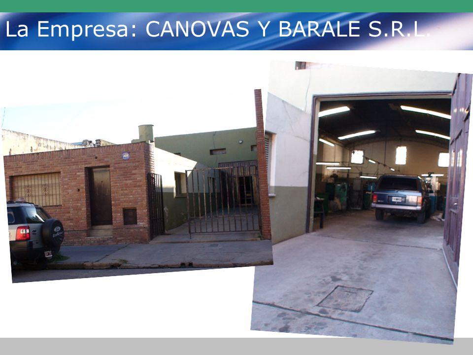 La Empresa: CANOVAS Y BARALE S.R.L.