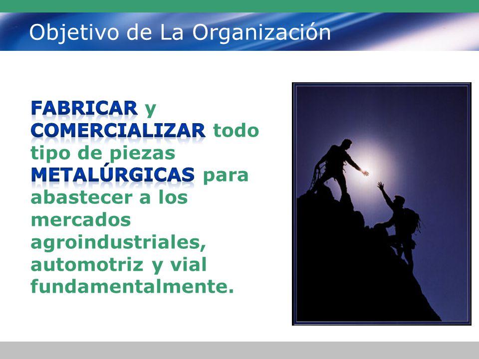 Objetivo de La Organización