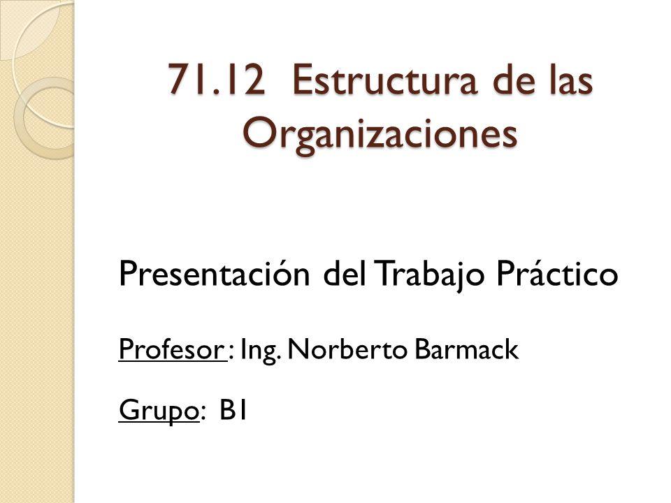 71.12 Estructura de las Organizaciones