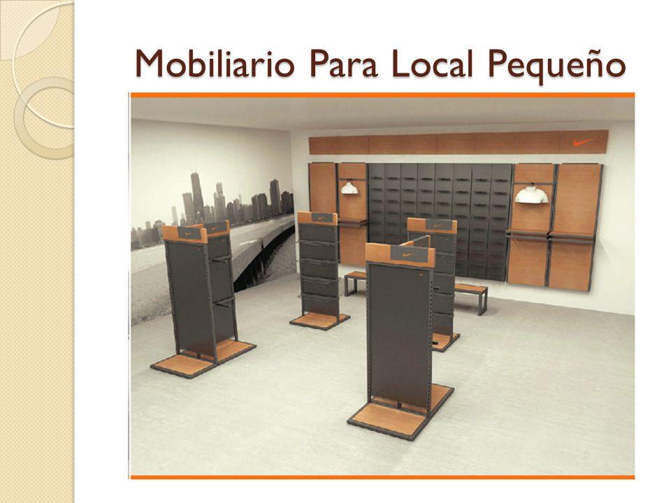 Mobiliario Para Local Pequeño