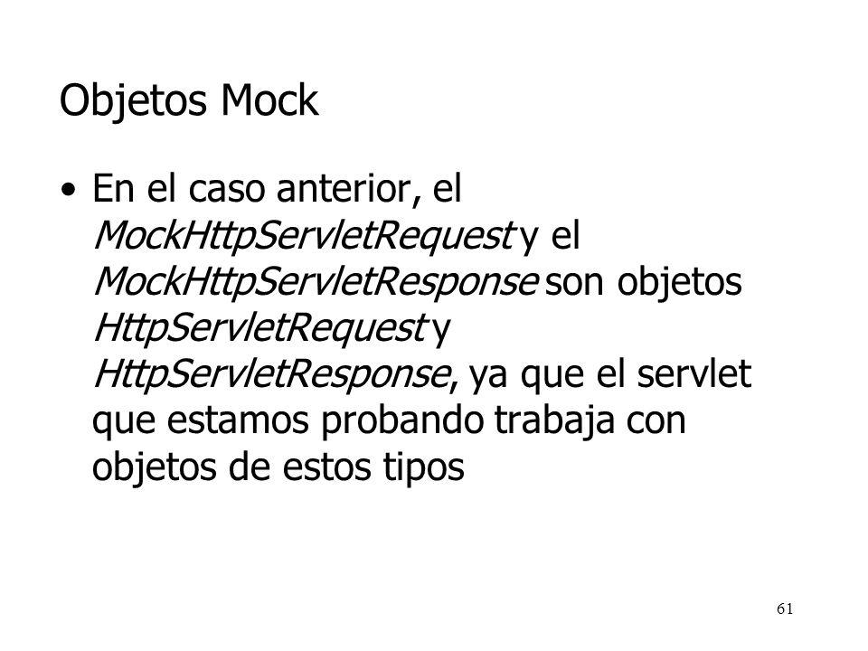 Objetos Mock