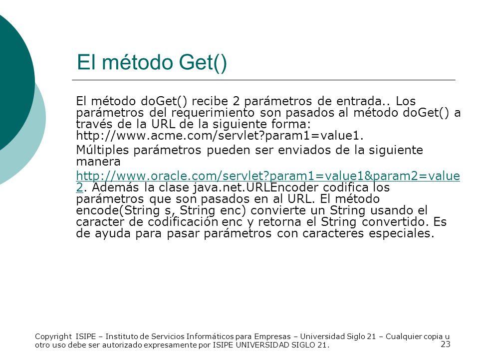 El método Get()