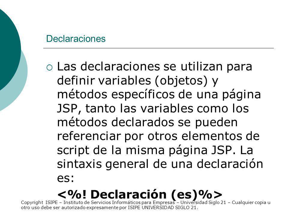 <%! Declaración (es)%>