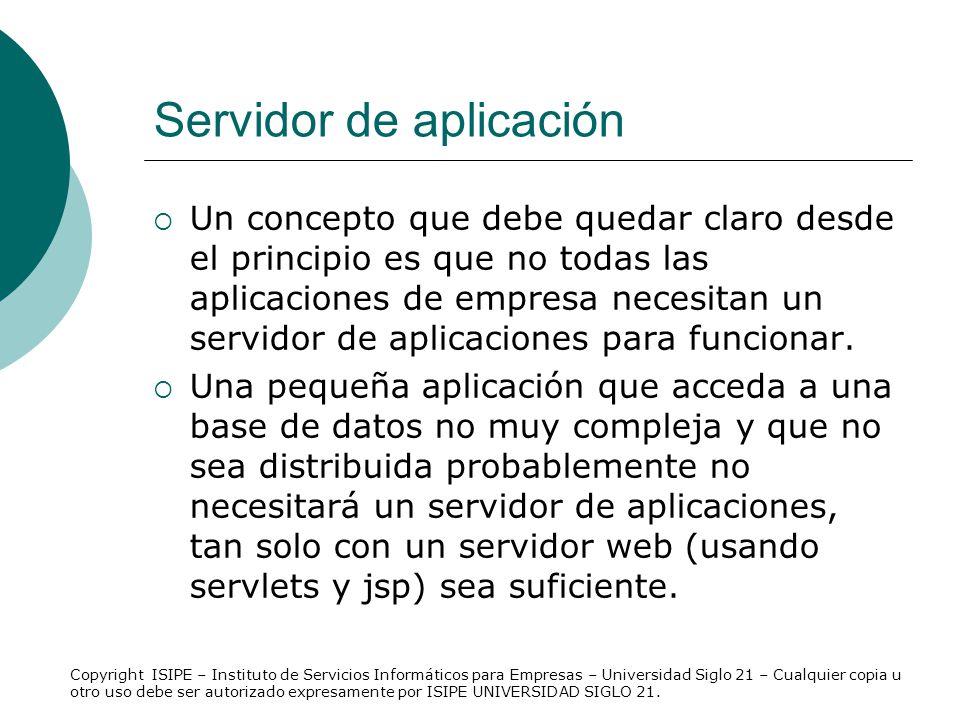 Servidor de aplicación