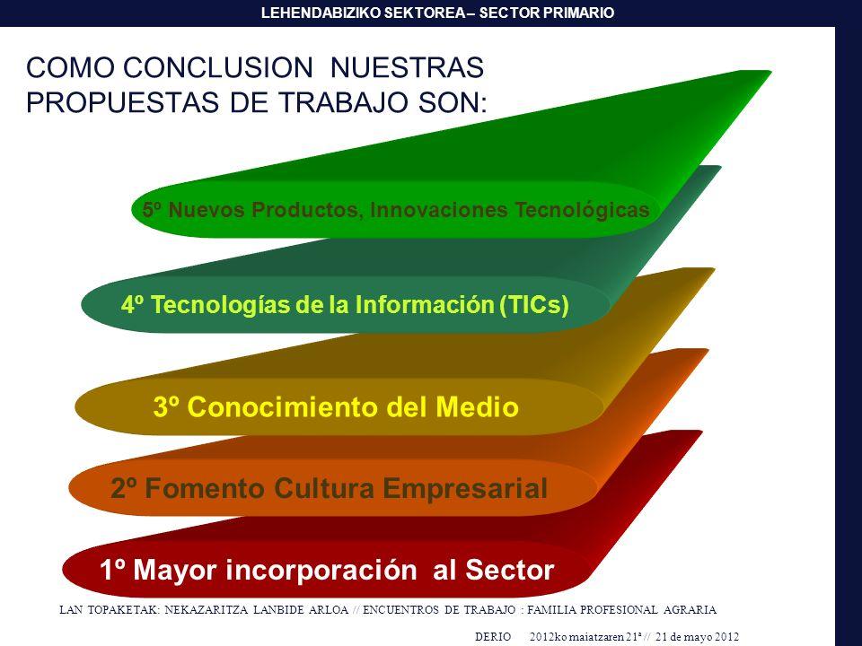 COMO CONCLUSION NUESTRAS PROPUESTAS DE TRABAJO SON: