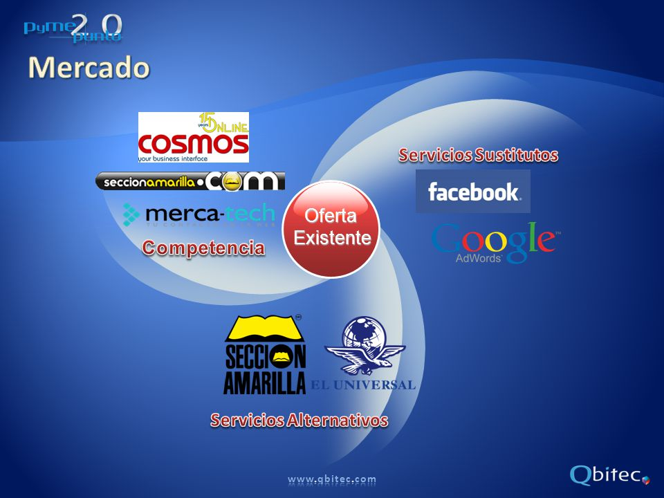 Mercado Servicios Sustitutos Oferta Existente Competencia