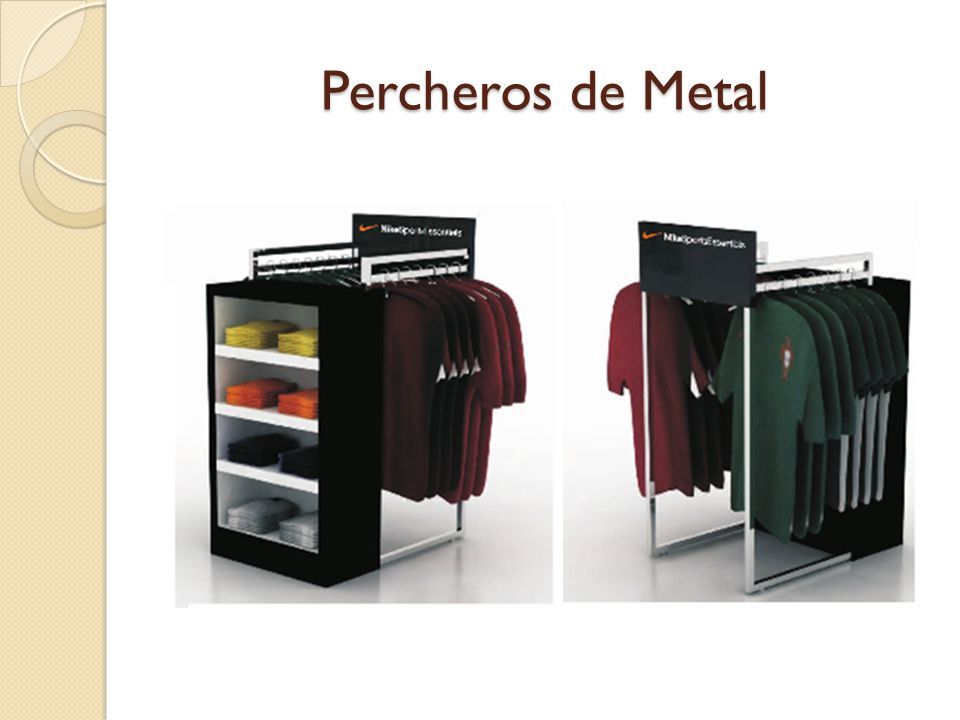 Percheros de Metal