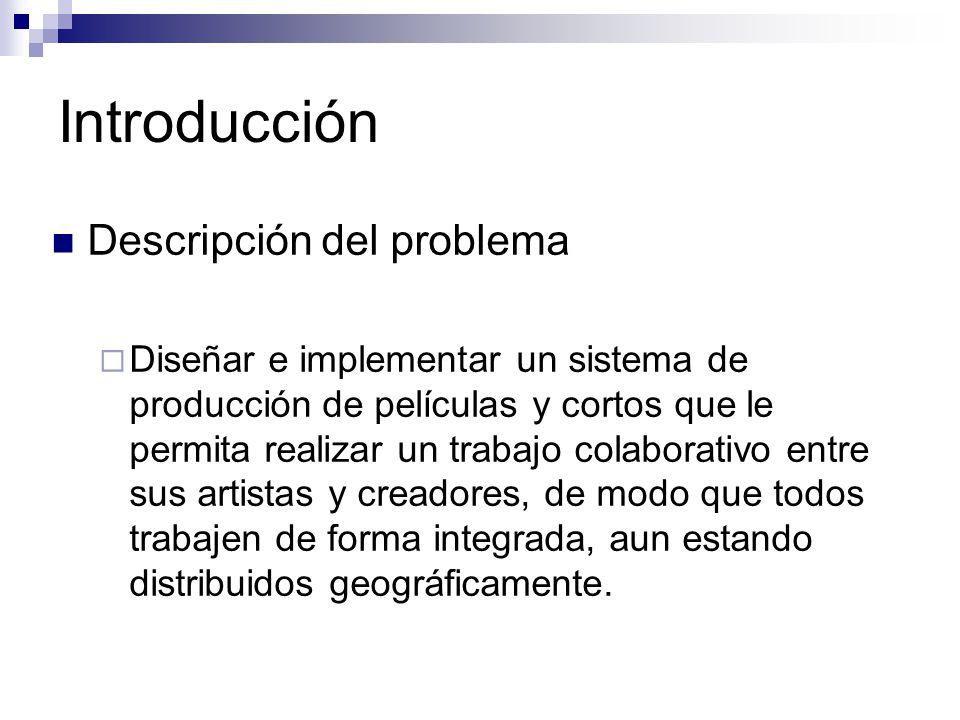Introducción Descripción del problema