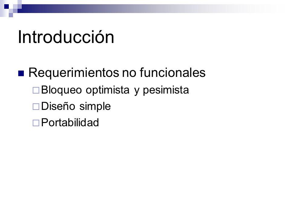 Introducción Requerimientos no funcionales