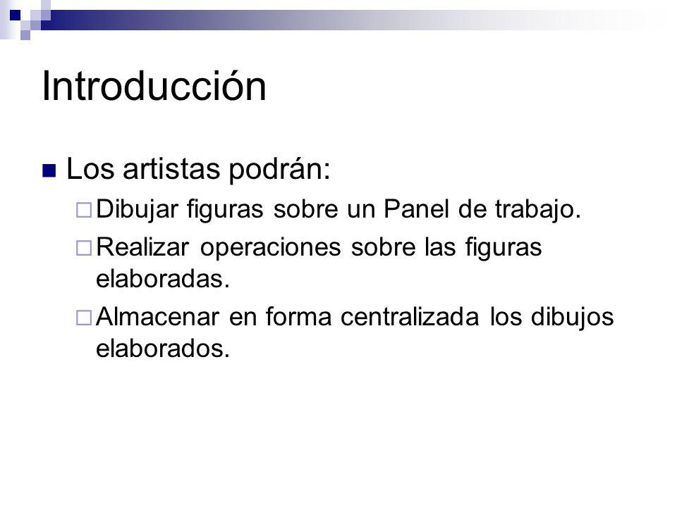 Introducción Los artistas podrán: