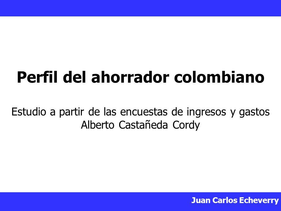Perfil del ahorrador colombiano