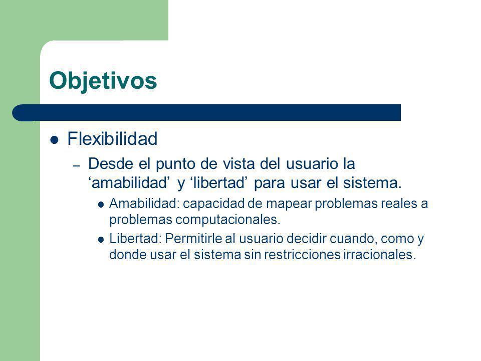 Objetivos Flexibilidad