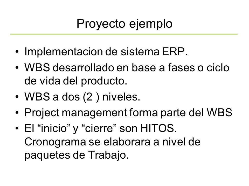 Proyecto ejemplo Implementacion de sistema ERP.