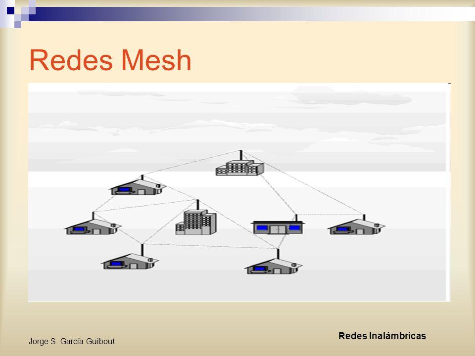 Redes Mesh Redes Inalámbricas Jorge S. García Guibout
