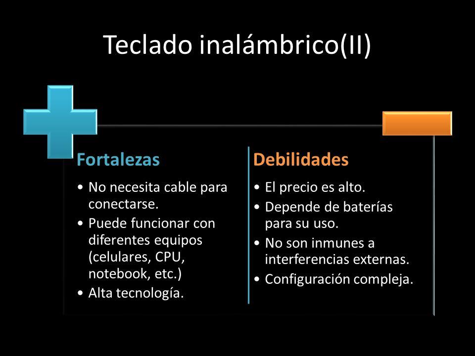 Teclado inalámbrico(II)