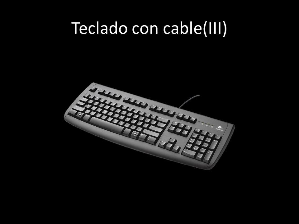 Teclado con cable(III)