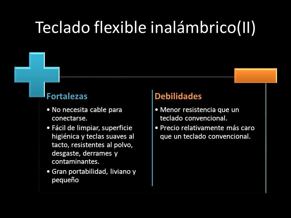 Teclado flexible inalámbrico(II)