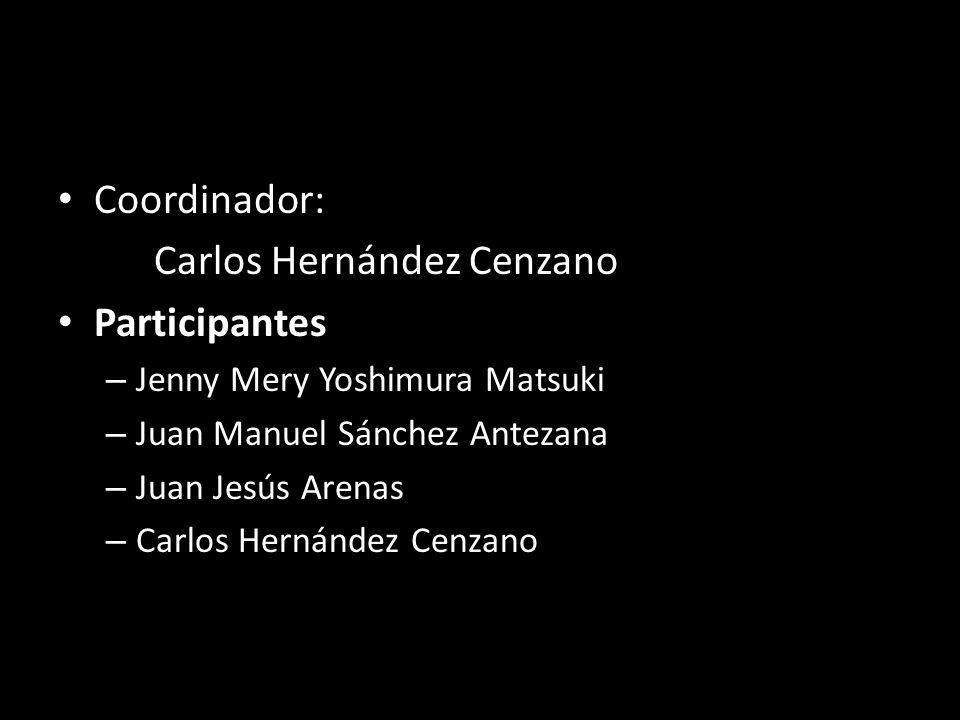 Carlos Hernández Cenzano Participantes