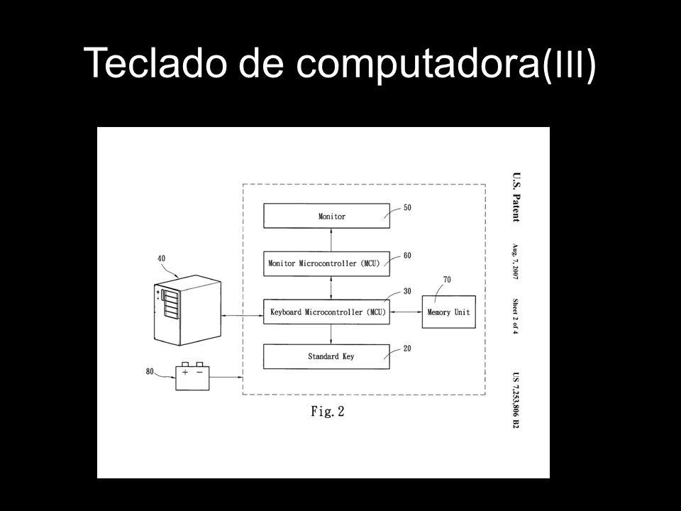 Teclado de computadora(III)