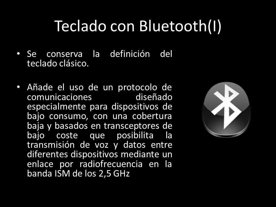 Teclado con Bluetooth(I)
