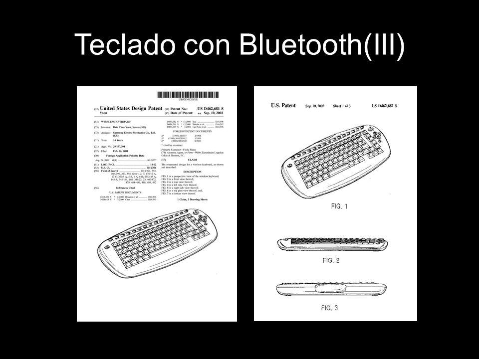 Teclado con Bluetooth(III)