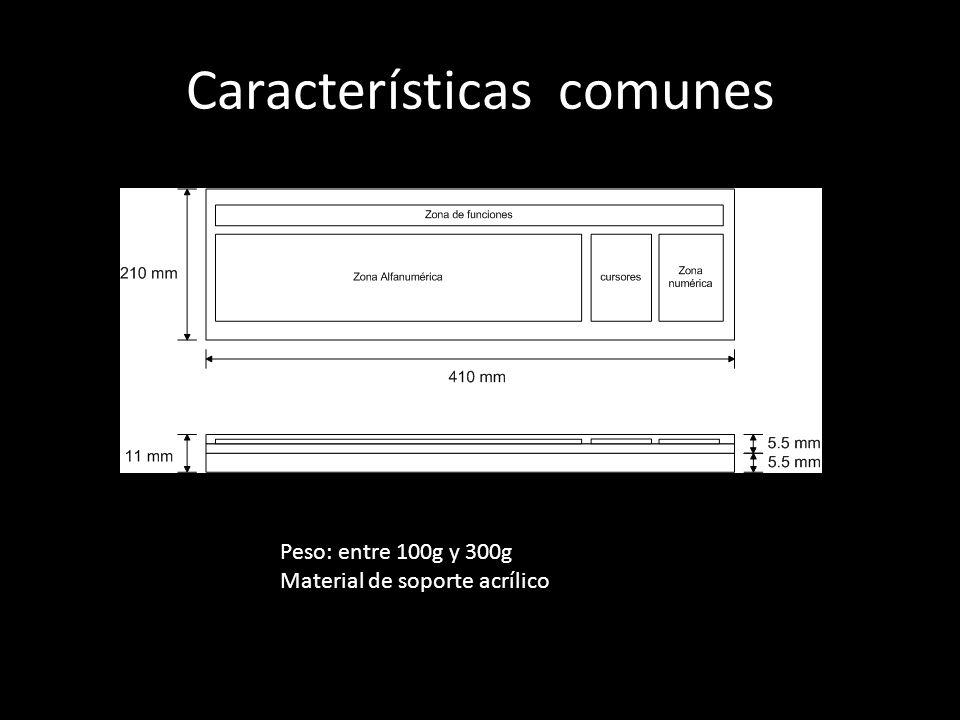 Características comunes