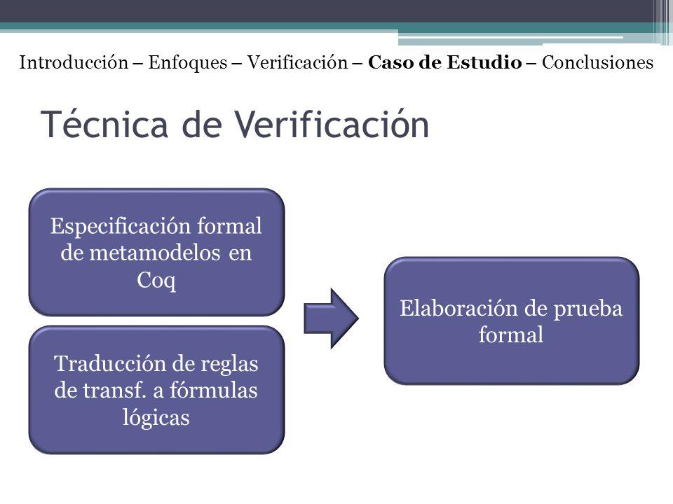 Técnica de Verificación