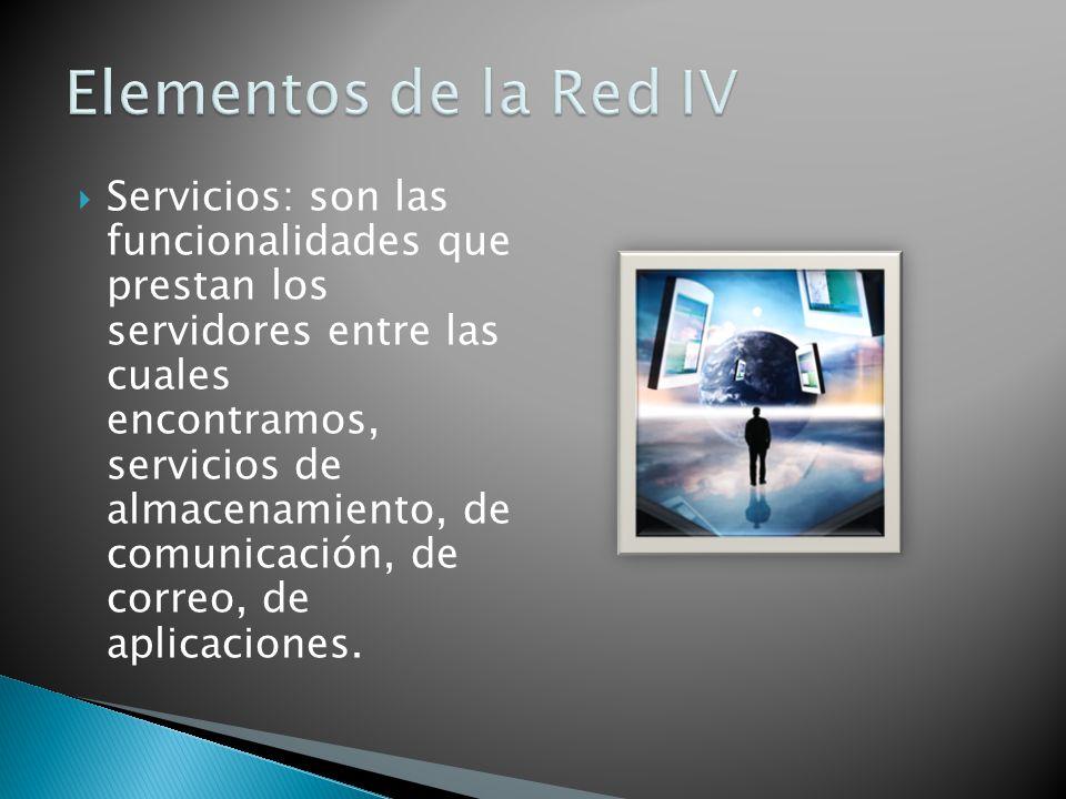 Elementos de la Red IV