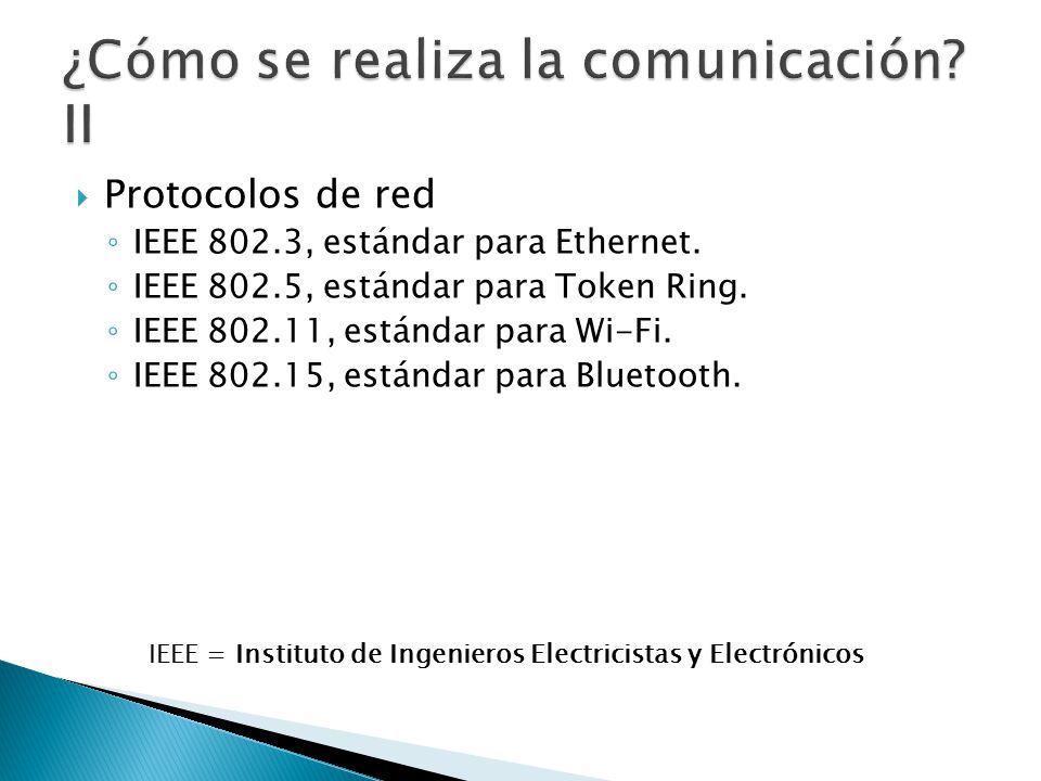 ¿Cómo se realiza la comunicación II