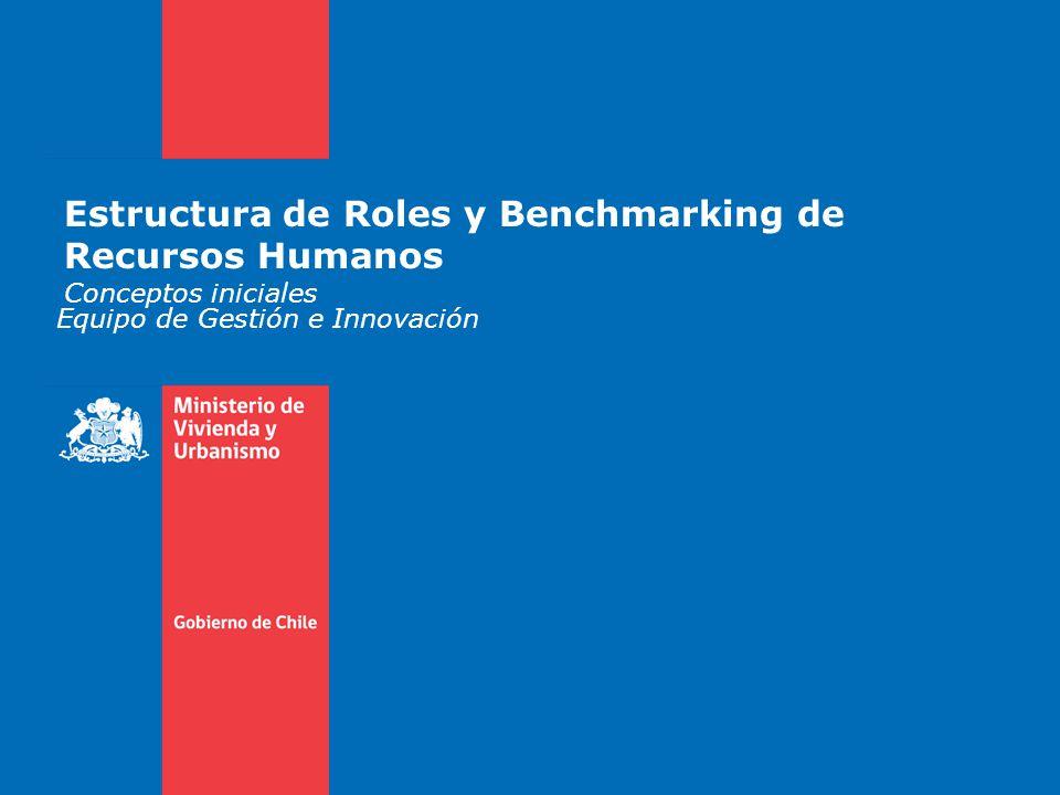 Estructura de Roles y Benchmarking de Recursos Humanos Conceptos iniciales