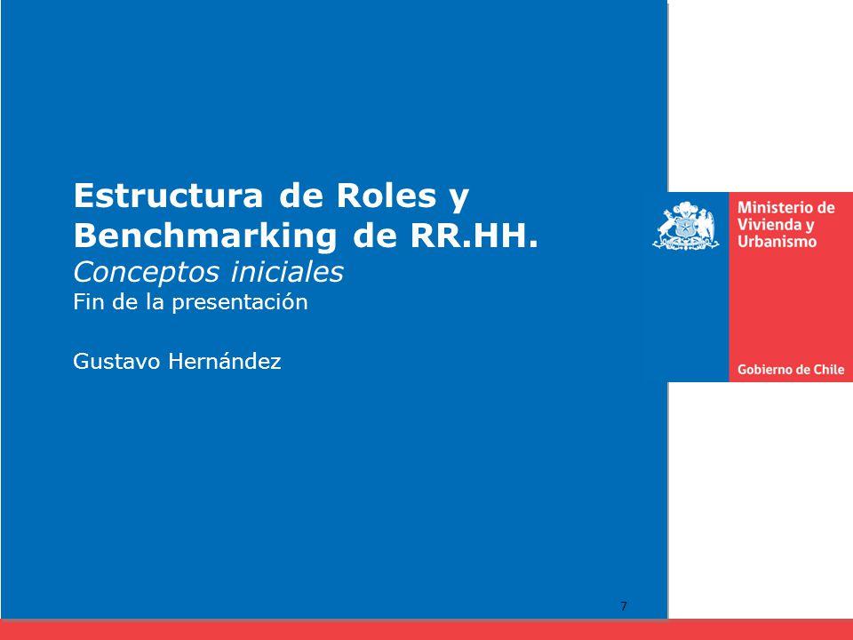Estructura de Roles y Benchmarking de RR. HH
