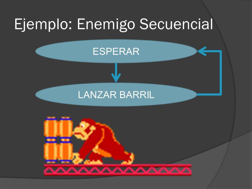 Ejemplo: Enemigo Secuencial