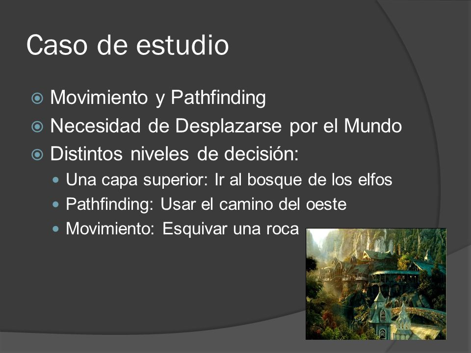 Caso de estudio Movimiento y Pathfinding