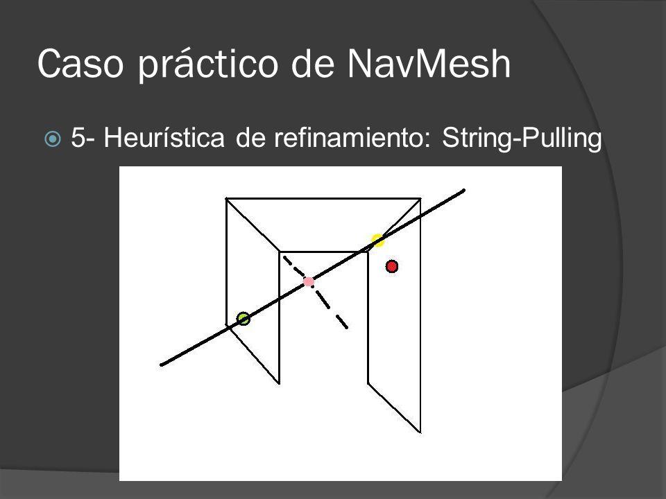 Caso práctico de NavMesh