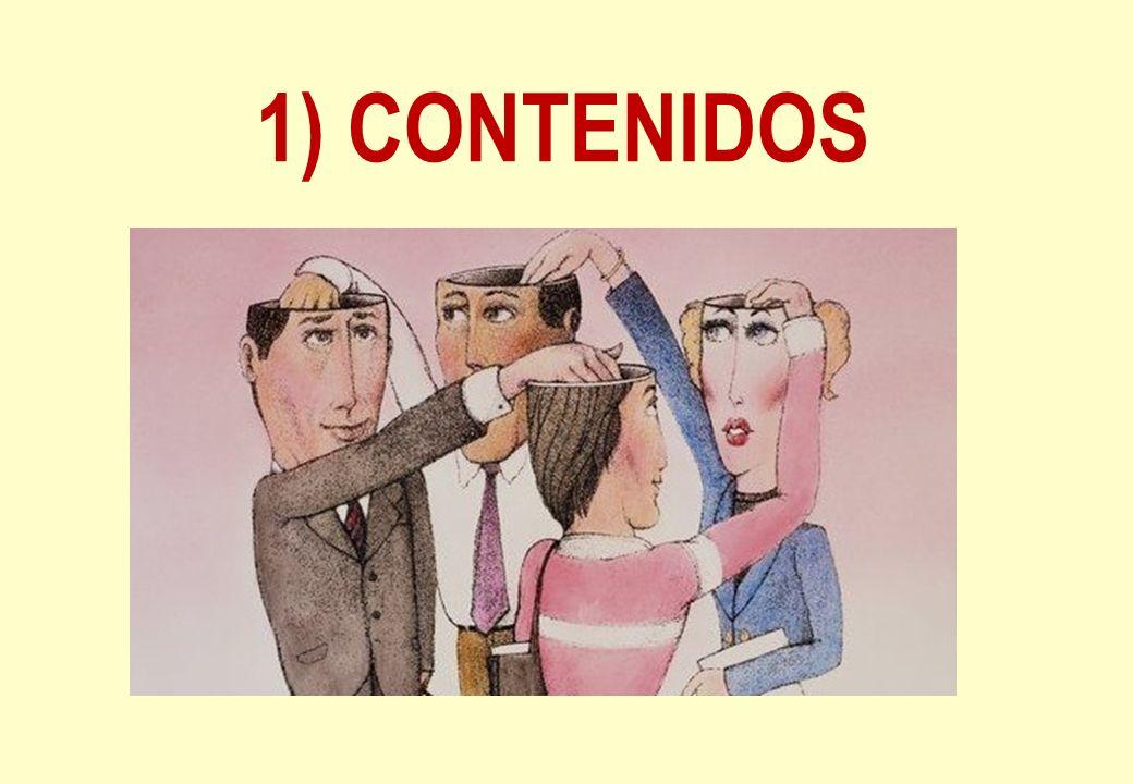 1) CONTENIDOS