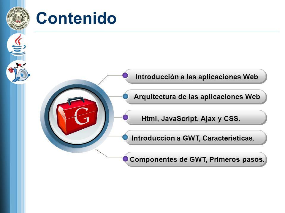 Contenido Introducción a las aplicaciones Web
