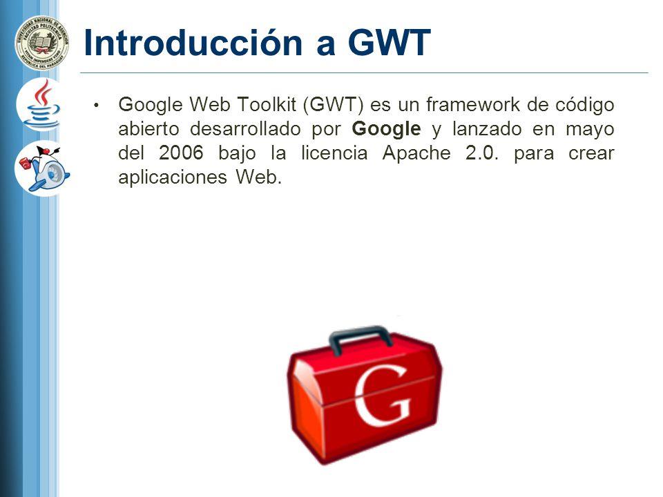 Introducción a GWT